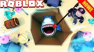 DOKOPALIŚMY SIĘ DO REKINA W ROBLOX?! 🐟 (Roblox Mining Simulator) | Vito i Bella