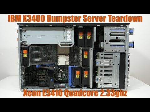 Teardown Friday: Dumpster Xeon Server, IBM X3400