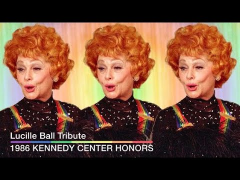 The Kennedy Center Honors w. Lucille Ball (1986)