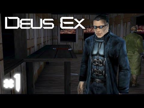 Deus Ex 2000 - Прохождение  #1  (Первое задание!)