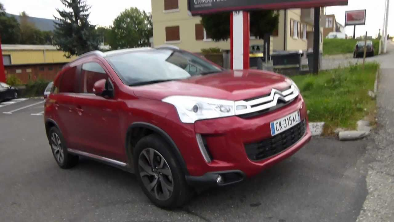 c4 aircross citroen suv crossover 4x4 2x4 car auto automobile mondial salon youtube. Black Bedroom Furniture Sets. Home Design Ideas