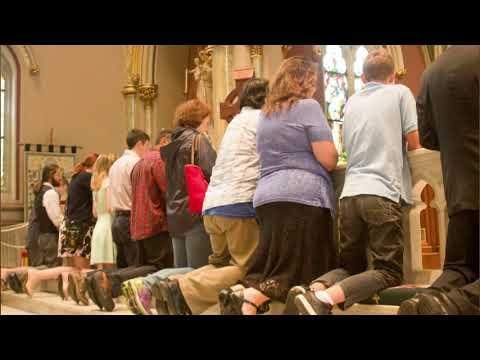 Fr. VanDenBroeke: Kneeling Before God
