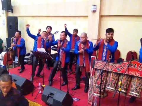 Pemain Musik Batak Yang SELALU HEBOH!! Acara Pesta Pernikahan Batak Live Batara Guru Junior
