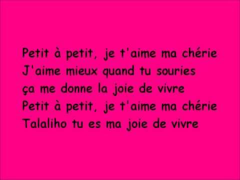 LOGOBI GT - Sucré Salé Lyrics