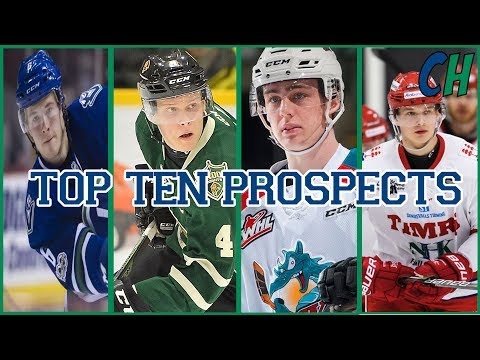 Vancouver Canucks: TOP TEN PROSPECTS