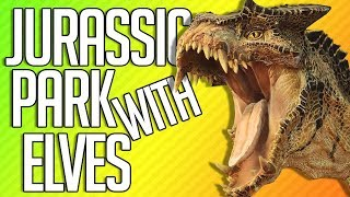 JURASSIC PARK WITH ELVES | Total War: Warhammer 2