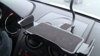 Netbook Car Mount Gets Tested on the Road