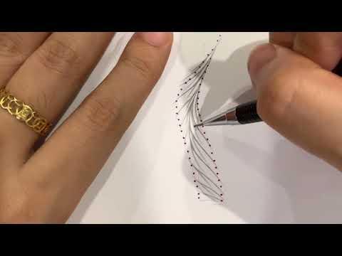 Cách thiết kế sợi Lông mày Hairtrock