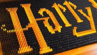 Harry Potter in Dominoes (ft. LEGO)