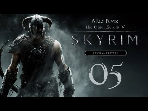 AJ Plays: Skyrim Special Edition - Irileth Kills a Dragon | Episode Five