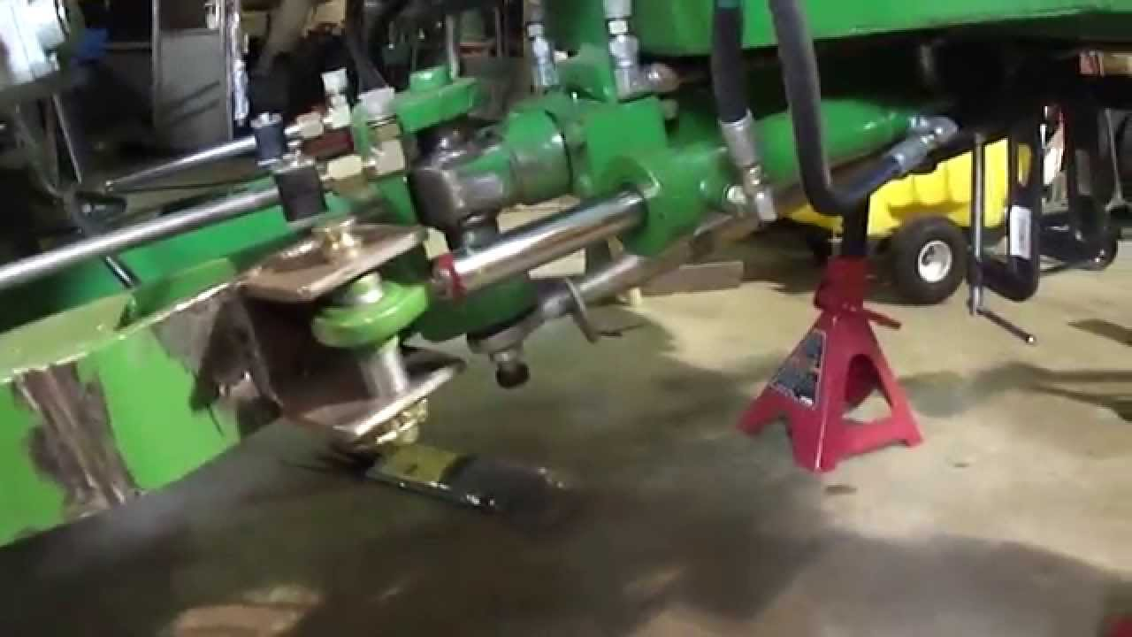 Homemade 4WD hydraulic drive articulated Tractor YouTube – Articulated Garden Tractor Plans