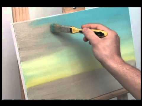 Tv transam rica t cnita pintura em tela a oleo youtube - Como pintar sobre tela ...