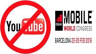 NO QUIEREN YOUTUBERS EN EL MOBILE WORLD CONGRESS