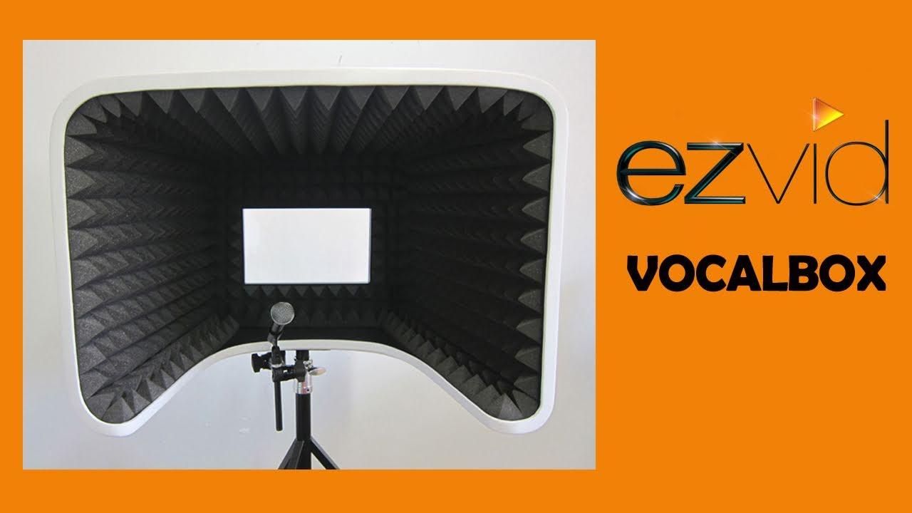 vocalbox world 39 s best studio vocal reflection filter booth youtube. Black Bedroom Furniture Sets. Home Design Ideas
