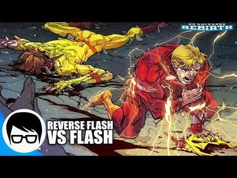 LA ULTIMA BATALLA DE FLASH Y REVERSE FLASH   Flash Rebirth #25-27   COMIC NARRADO