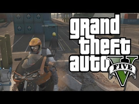 GTA 5: Funny Moments (Toilet Break,...