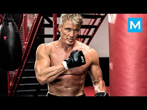 Dolph Lundgren aka Ivan Drago Workouts for Creed  Muscle Madness