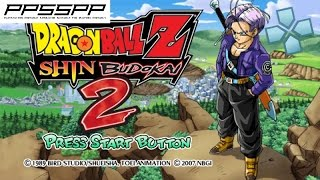 Dragon Ball Z: Shin Budokai 2 - PSP Gameplay (PPSSPP) 1080p