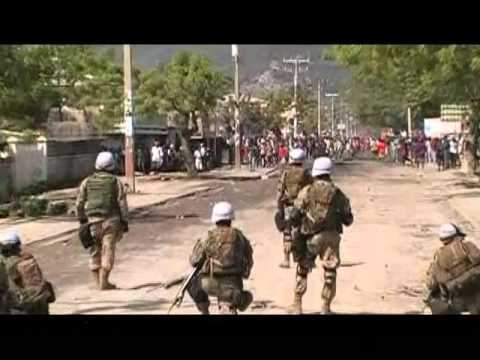 Haiti Cap MINUSTAH Violence.avi