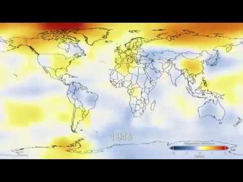 NASA - Global Warming timelapse (1884-2011)