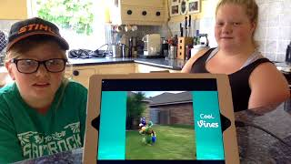 Reacting to funny vines (first video)