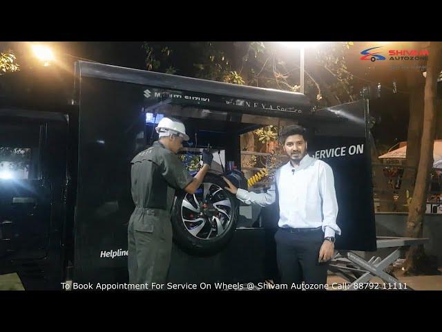 Maruti Suzuki Mobile CAR Service & Maintenance - Service On Wheels