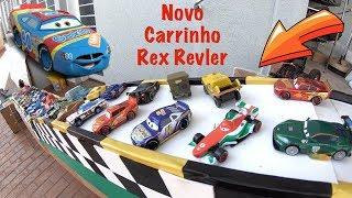 Carros 3 Novo Rex Revler 80 na Pista Amoeba - Carrinhos de Brinquedos #219