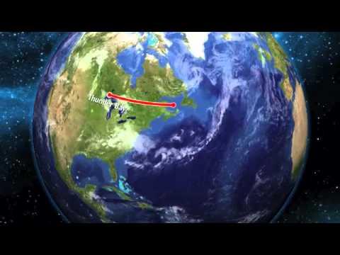 Map Thunder Bay - Odessa