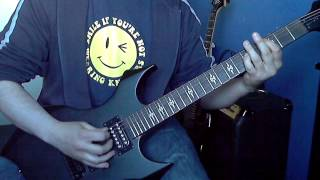Iron Maiden Different World Guitar Cover + Solo