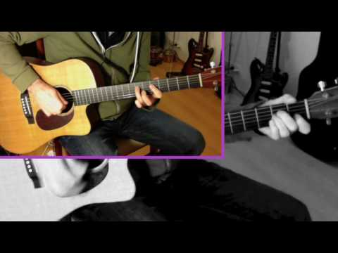 Cold Maroon 5 feat. FUTURE chords guitar tutorial