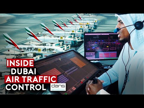 EXCLUSIVE: Inside Dubai Air Traffic Control