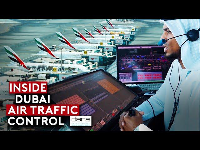 EXCLUSIVE: Inside Dubai Airport Air Traffic Control