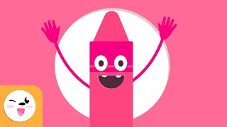 Color Pink for Kids - Learn the Colors - Colors Songs
