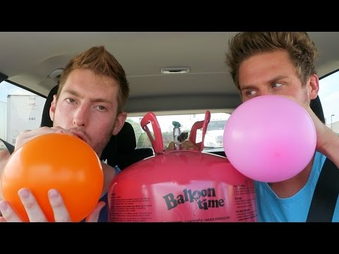 Using Helium in the Drive Thru!