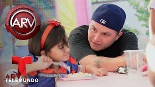 Hijo de Jenni Rivera habla de enfermedad de su hijita | Al Rojo Vivo | Telemundo