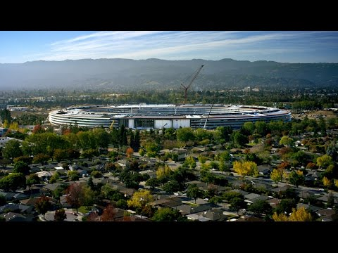 Apple Park - The New Campus in Cupertino, California