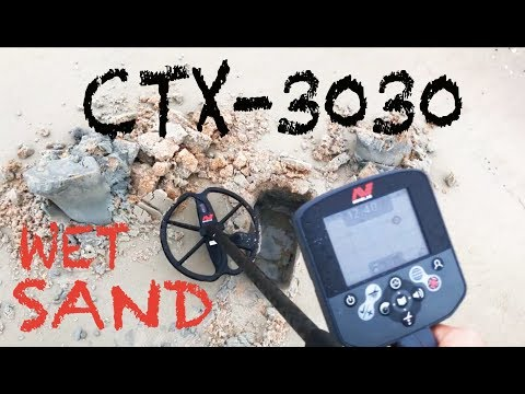 How I Metal Detect Crescent Beach Florida with the Minelab CTX-3030
