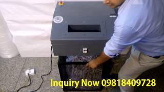 NAMIBIND NB 3020S HEAVY DUTY INDUSTRIAL PAPER SHREDDING MACHINE IN INDIA
