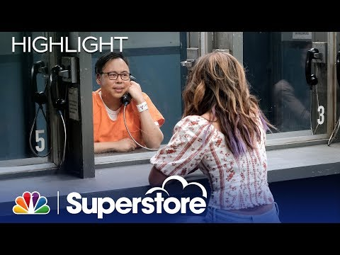 Cheyenne Visits Mateo In The Detention Center - Superstore (Episode Highlight)