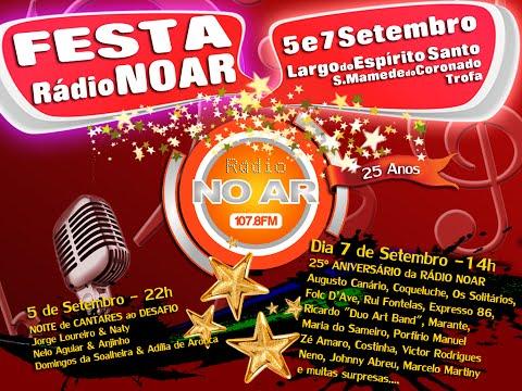 25º Aniversário Rádio Noar