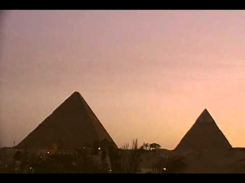 Giza Pyramids - Sunset