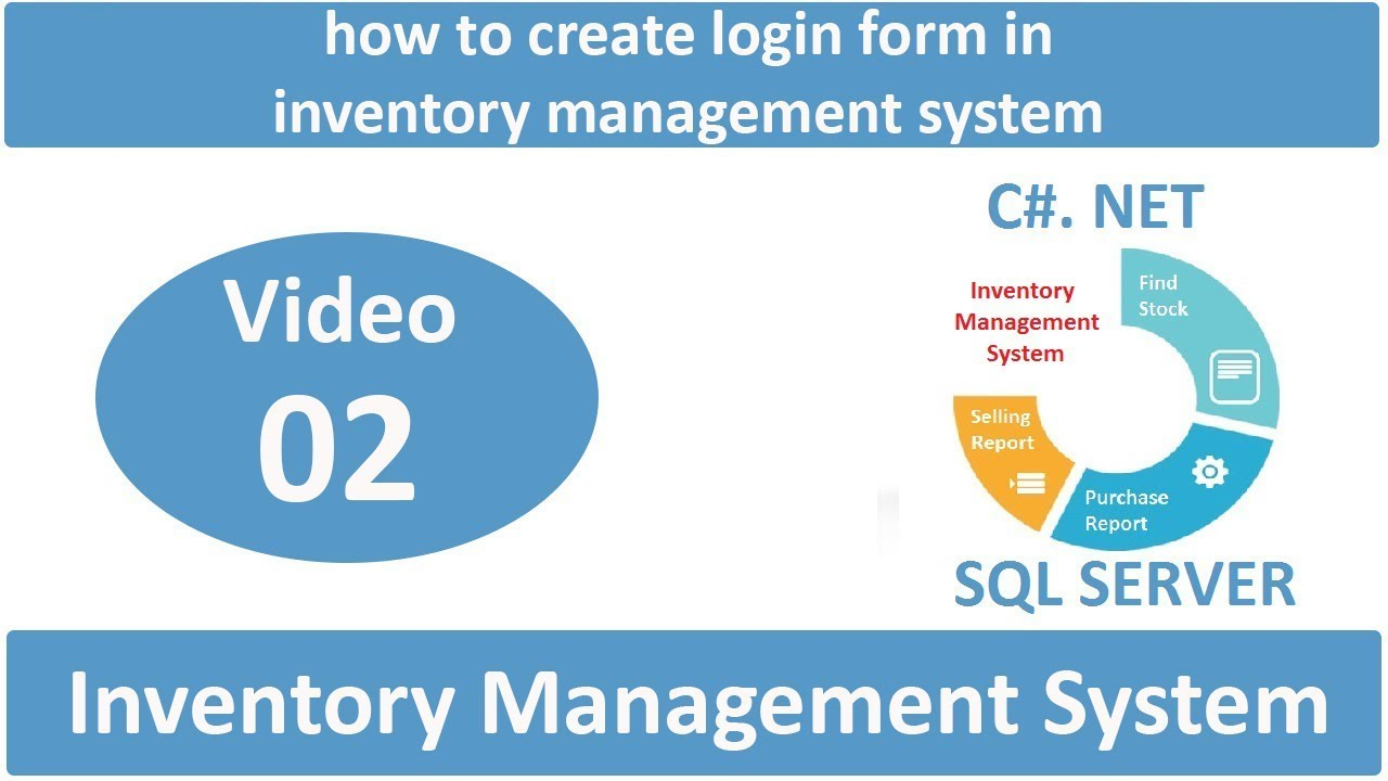 how to make inventory management system in c# net