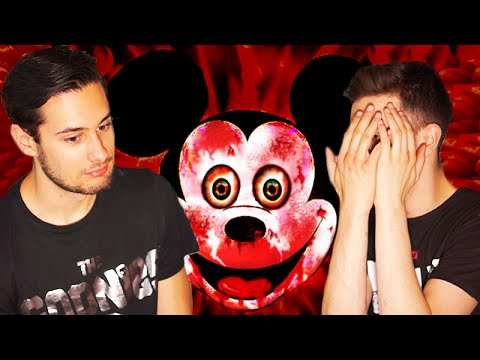 PAUL AND TOM REACT TO ' Suicidemouse.avi '