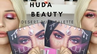 HUDA BEAUTY DESERT DUSK PALETTE (AND MORE HUDA PRODUCTS! ) || GIO DREVELI ||