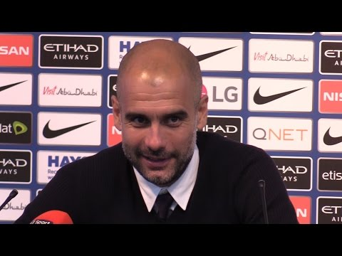 Manchester City 2-1 Sunderland - Pep Guardiola Full Post Match Press Conference