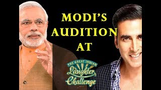 Narendra Modi MEMES by Sanjay Rangeela in Indian Laughter Challenge