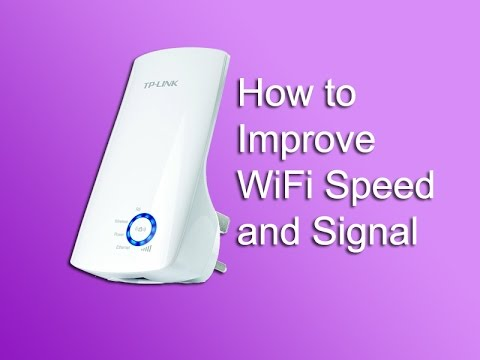 how to improve wifi speed and signal youtube. Black Bedroom Furniture Sets. Home Design Ideas