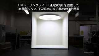 LEDシーリングライト シールド密閉構造「虫ぎらい設計」の負荷実験 thumbnail