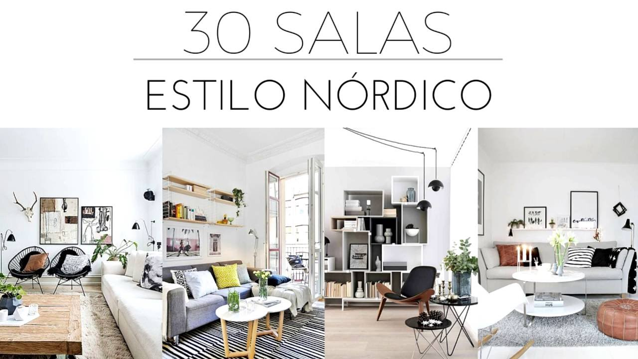 Sala de estar estilo nordico id ias for Decoracion estilo nordico escandinavo