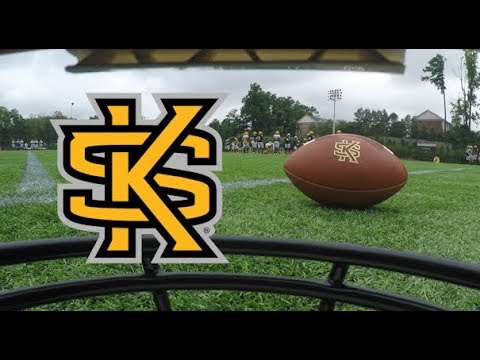 Kennesaw State Football 2017 Training Camp Inside Look Youtube